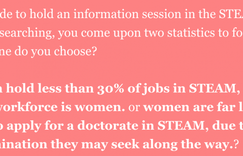 GEDI The Issue With Gender Equality in STEAM